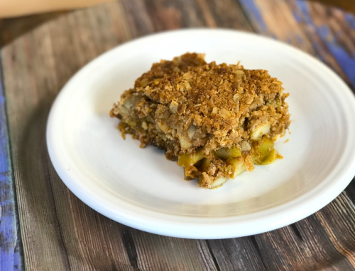 Apple Delicata Squash Crisp