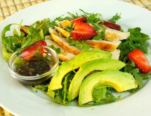 Arugula-Chicken Salad