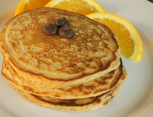 Dark Chocolate-Orange Pancakes