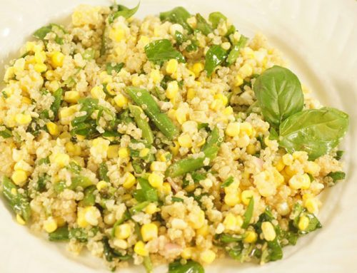 Quinoa, Sweet Corn and Green Bean Salad