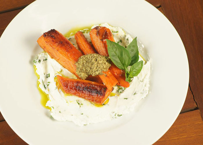 Roasted-Carrots-with-Herbed-Goat-Cheese-and-Pesto-700x500-1