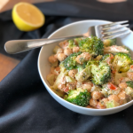 Skillet-Chickpeas-with-Broccoli