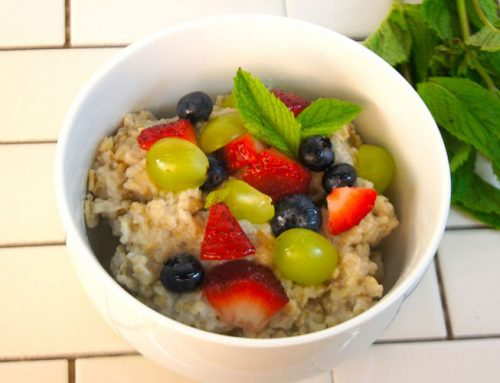 Summer Breakfast Oat Bowl