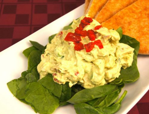 Creamy Avocado-Chicken Salad