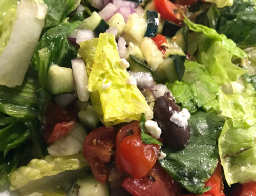 Greek Jar Salad