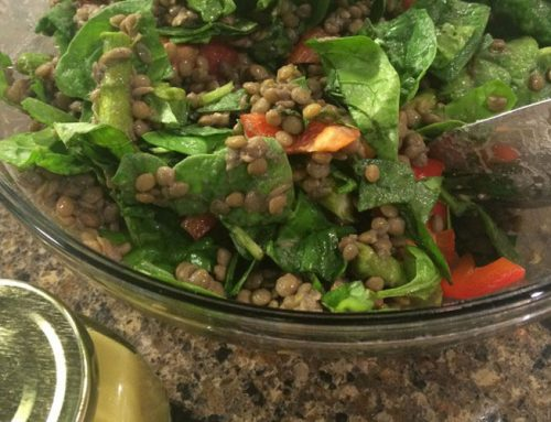 Lentil Salad with Dijon Vinaigrette