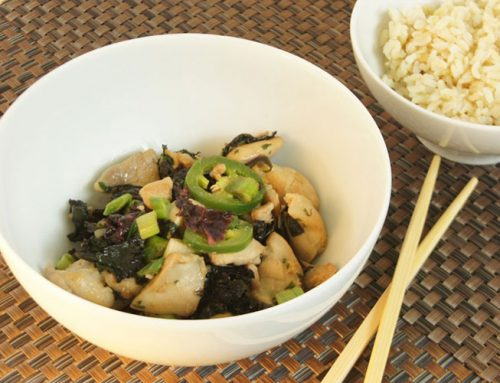 Spicy Asian Chicken with Kale
