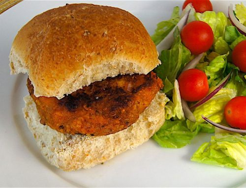 Sweet Potato, Quinoa and Bean Burgers