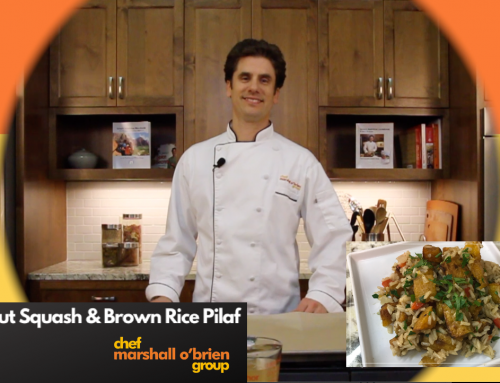 WATCH: Butternut Squash and Brown Rice Pilaf