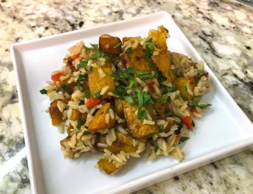 Butternut Squash & Brown Rice Pilaf