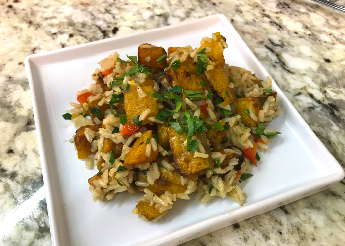 Butternut-Squash-and-Brown-Rice-Pilaf