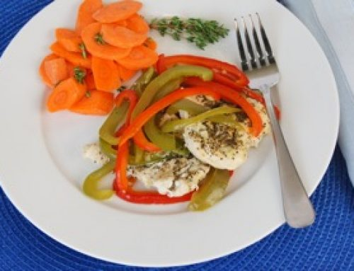 Foil-Wrapped Italian Chicken and Veggies