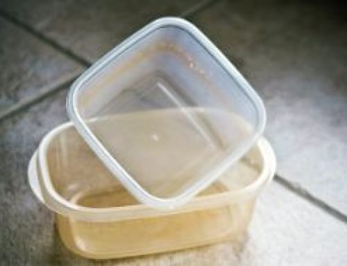 No More Stained Food Containers
