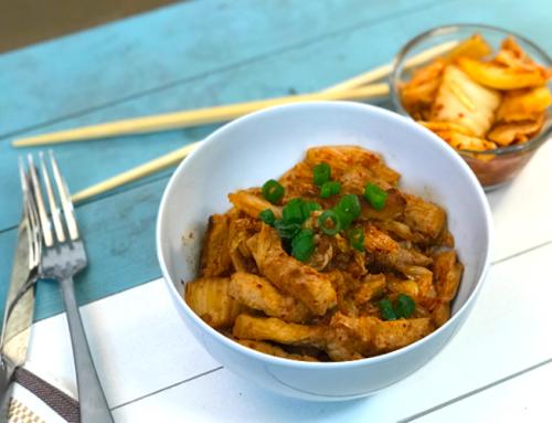 Pork Kimchi Stir-Fry