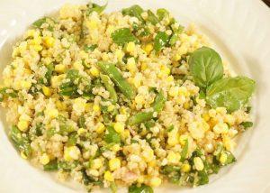 Quinoa-sweet-corn-and-green-bean-salad