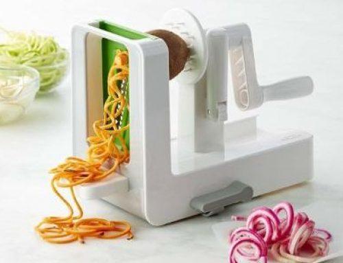 Use a Spiralizer to Make Vegetable Noodles