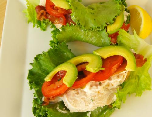 Chicken BLT Lettuce Wraps