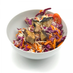Marinated Portobello Red Cabbage Salad