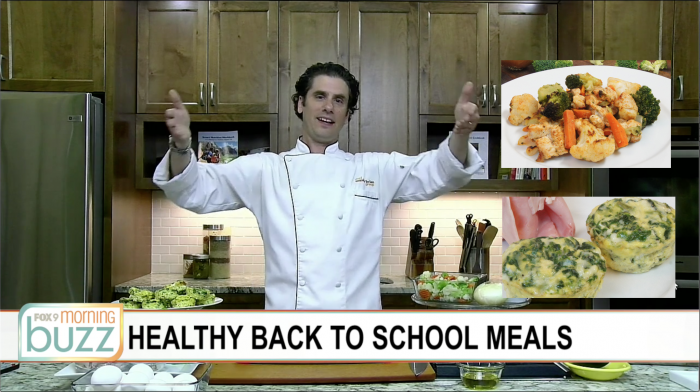 chef marshall o'brien back to school