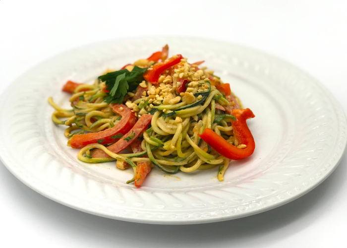 spiralized pad thai