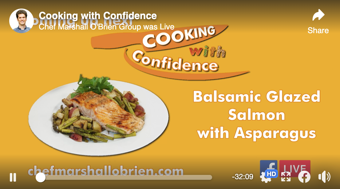 Episode 2 - Balsamic Glazed Salmon - Cooking with Confidence