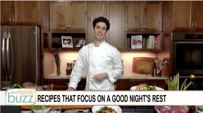 chef marshall fox9 foods for better sleep