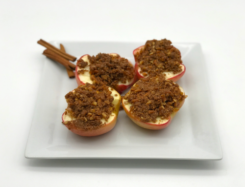 Baked Apple Pretzel Boats