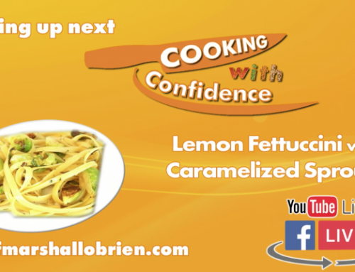 Lemon Fettuccini with Caramelized Sprouts – episode 11