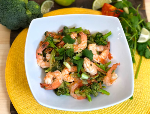 Zesty Cilantro Shrimp